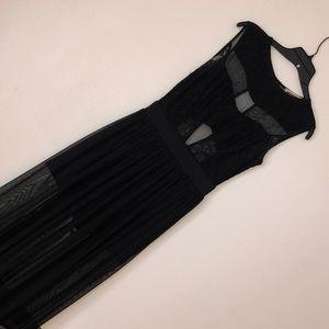 Black Lace Dress (Skort)